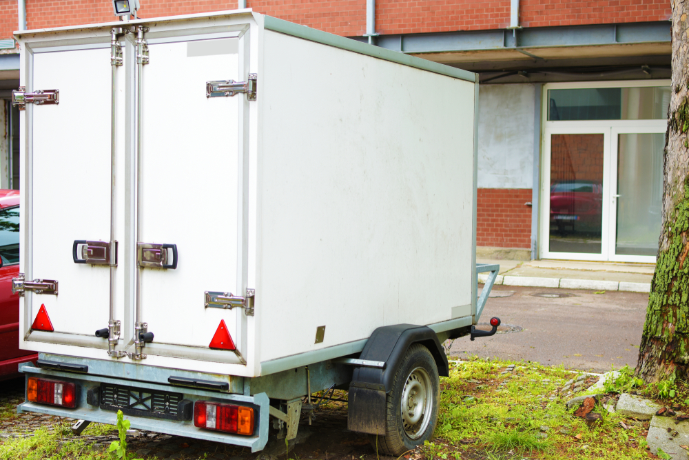 A mobile cold room