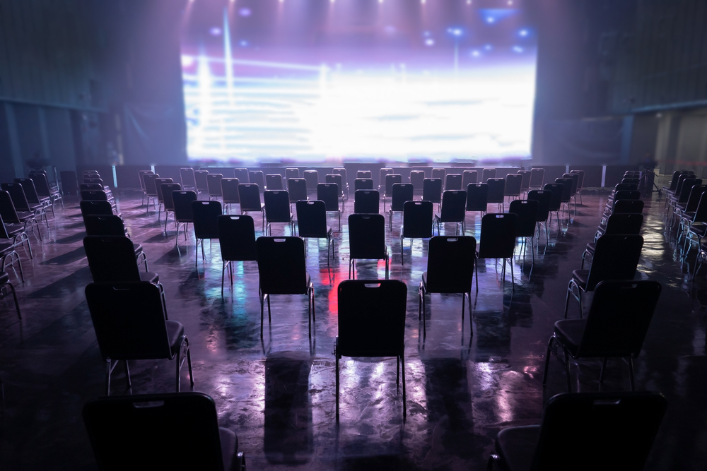 Social distancing is just one of the impacts on the events industry