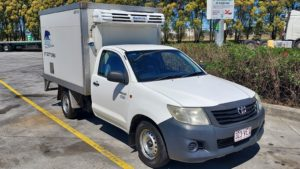 2014 Toyota Hilux Workmate 2 Pallet Refrigerated Ute
