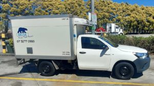 2017 Toyota Hilux Workmate 2 Pallet Refrigerated Ute